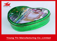 China Slender Capsules Packaging Heart Shaped Gift Box Metal Tinplate Material YT1043 company