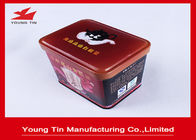 China Empty Metal Coffee Tins Box Food Grade , Custom Full Color Printing Coffee Tin Cans factory