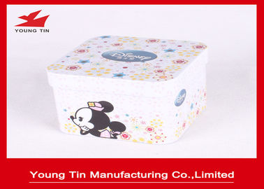 China Candy Packaging Square Metal Tins Container factory